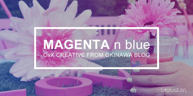 MAGENTA n blueイメージ