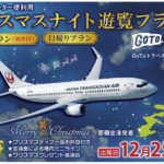 沖縄中央ツーリスト クリスマスナイト遊覧フライト